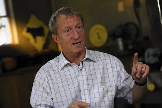 Tom Steyer may be liberals' answer to the Koch brothers