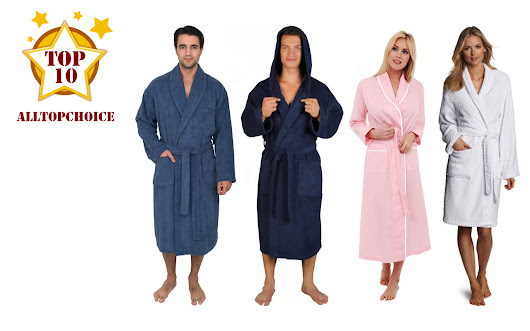 Top 10 Best Bathrobe Reviews in 2016