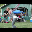 Katie Sunshine Hula Hooping In Yoga Pants At Winfest