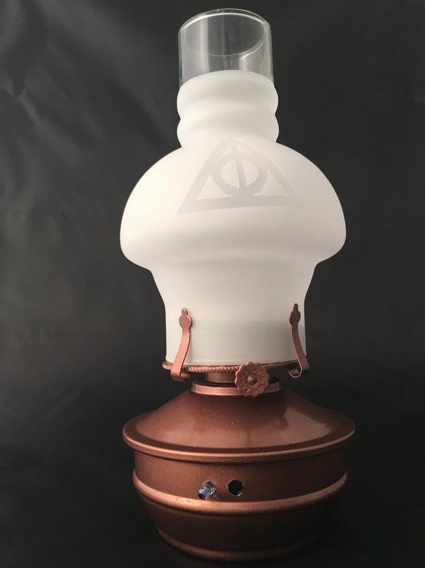 Raspberry Potter Lamp