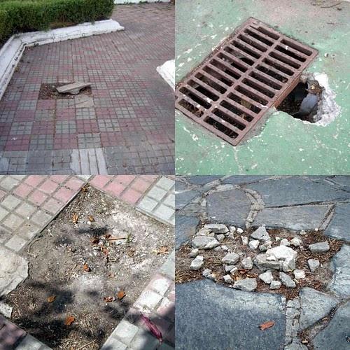El informal de fran pavimento del jard n hist rico - Pavimento jardin ...