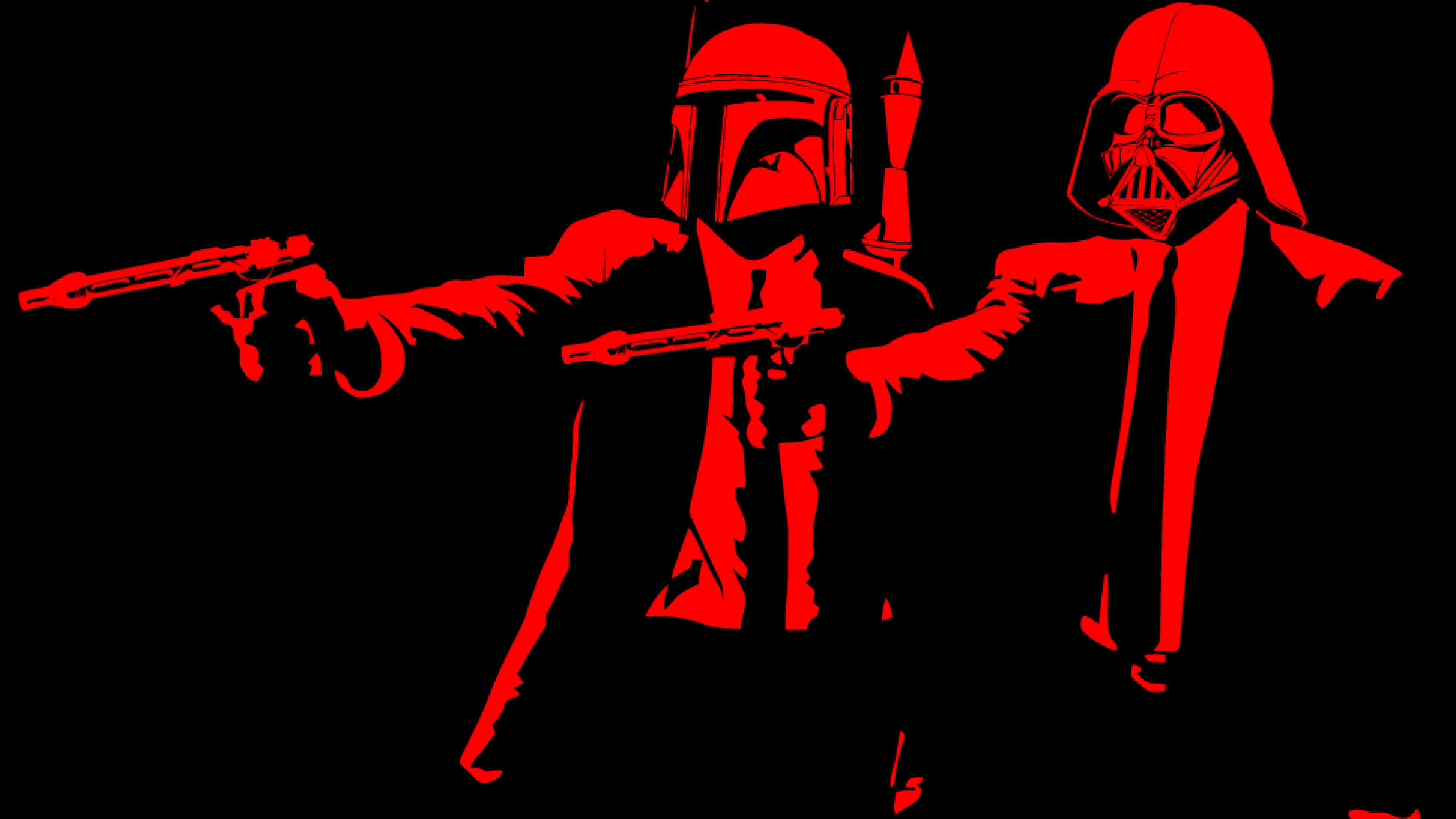 Free Creative Star Wars Pulp Fiction Images On Your Gadgets