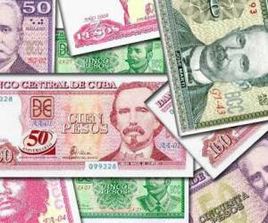 Billetes dinero cubano