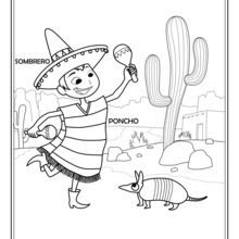 Dibujos Para Colorear Mexicano Eshellokidscom