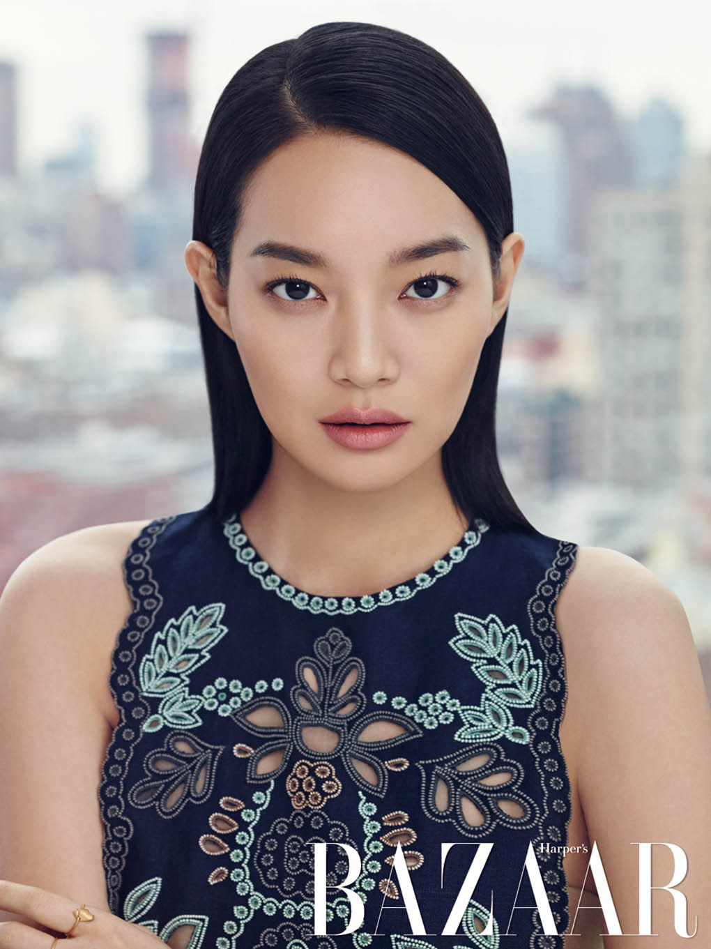 Shin Min Ah - Harper's Bazaar Magazine February Issue '15