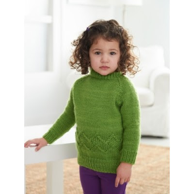 Kid's Chevron Band Pullover