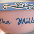 Large Serving Bowls With Names Hand painted | Clearly Susan