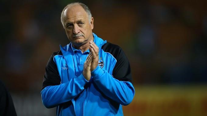 Grêmio anuncia a saída do técnico Felipão após derrota para o Santos