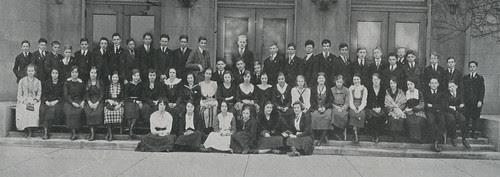 University High sophomore class 1919_tatteredandlost