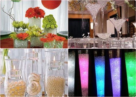 Wedding Centerpiece Ideas Water     DIY wedding