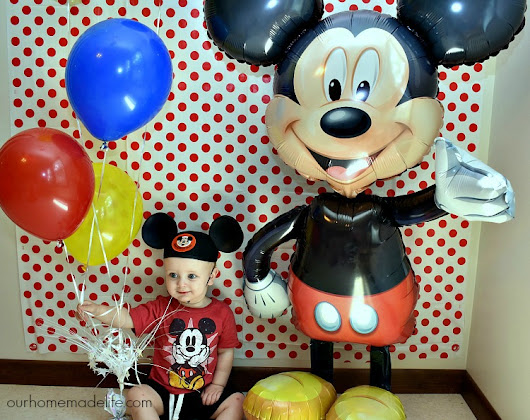 Disney Kids Mickey Party - The Magic is Endless - Our Homemade Life