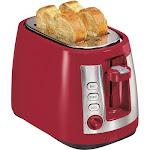 Hamilton Beach - Keep Warm Mode Toaster - Red