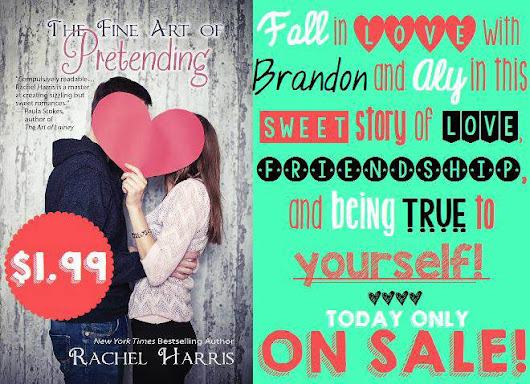 Kindle Daily Deal: The Fine Art of Pretending is on Super Sale! #YA #SweetRomance -