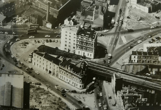Temple Gate: the junction through the years