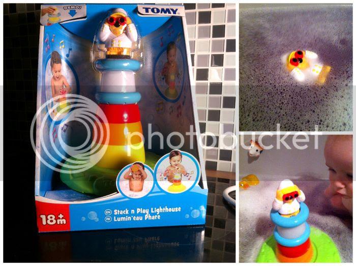Tomy Aqua Fun Leuchtturm