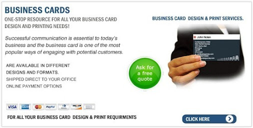 All things irish google for Fast business card printing