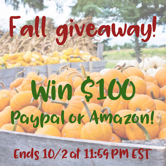 Welcome Fall with Open Arms & a $100 Giveaway! – New York Chica – Mom Blogger