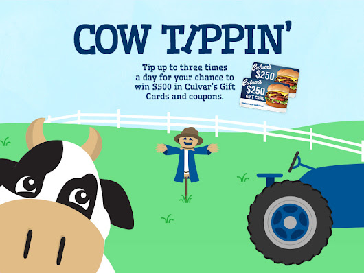 Play Culver's Cow Tippin'