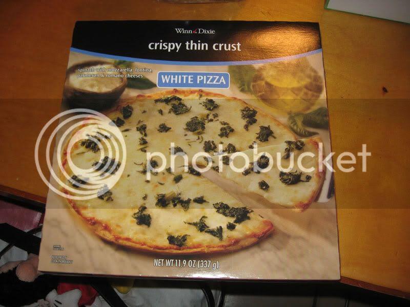 Winn-Dixie Frozen White Pizza