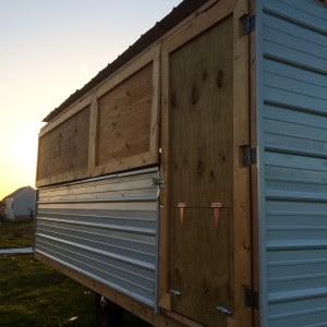Chicken Wagon Door