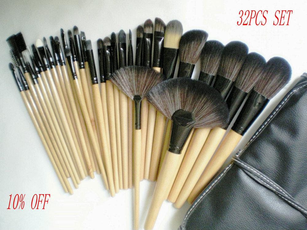 New Hot 10% Discount Professional Cosmetic Brushes Set ...