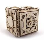 UGears UTG0010 Safe Mechanical Wooden 3D Model Kit