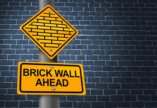 Up Against a Brick Wall: Random Thoughts on Adversity