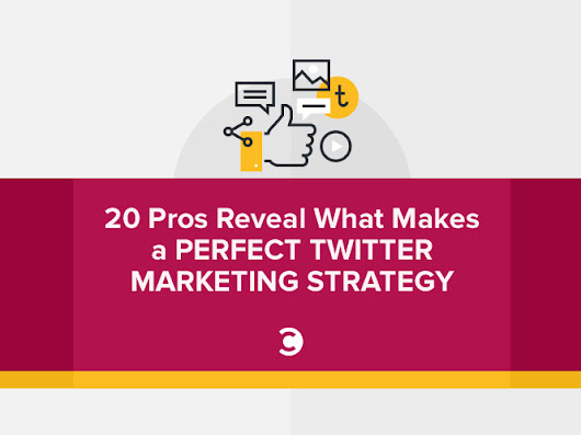 20 Pros Reveal What Makes a Perfect Twitter Marketing Strategy | Convince and Convert: Social Media Consulting and Content Marketing Consulting