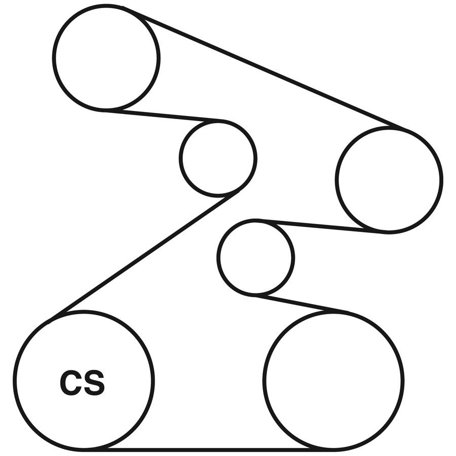 2006 Honda Odyssey Serpentine Belt Diagram