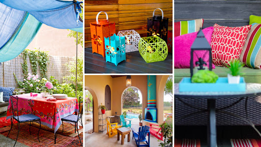 Color Outside the Lines! 6 Bright Ideas to Make Your Outdoor Space Pop