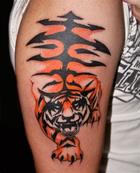 exciting tiger tattoo designs creativefan