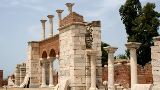 Basilica of St. John - Ephesus Turkey