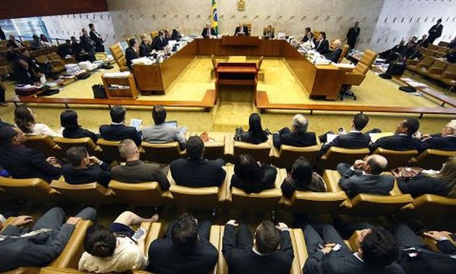 Plenário do Supremo Tribunal Federal (Foto: Secom/STF)