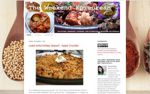 The Weekend Epicurean