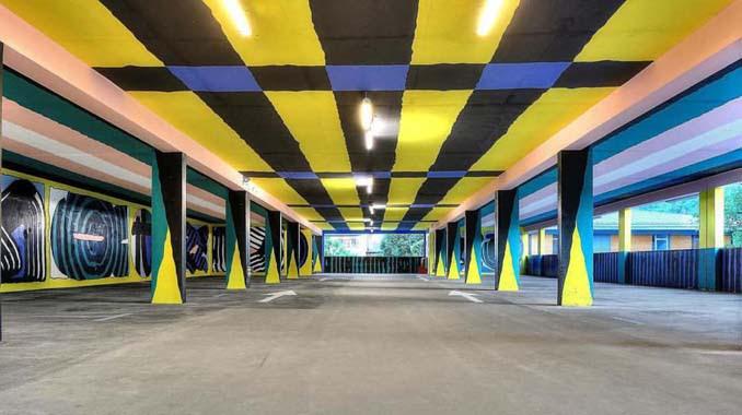 Parking αυτοκινήτων μετατράπηκε σε μουσείο Street Art (5)
