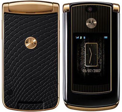 Motorola RAZR2 V8 Luxury Edition - Preview