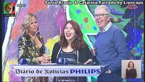 Sónia Araujo sensual no Natal dos Hospitais 2019