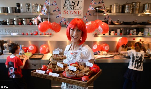 Comic Relief wants to inspire the nation to get out their baking trays and raise money for Red Nose Day on March 15th
