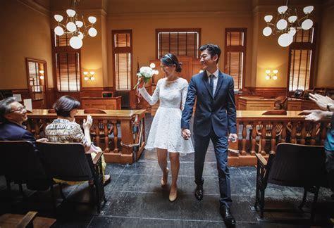 Orange County Courthouse Civil Wedding Ceremony