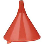 Plews & Lubrimatic 75-060 Funnel 4-1/2in Dia 8oz Economy Plastic