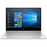 """HP - Envy x360 2-in-1 15.6"""" Touch-Screen Laptop - Intel Core i7 - 8GB Memory - 512GB SSD + Optane - Natural Silver, Sandblasted Anodized Finish"""