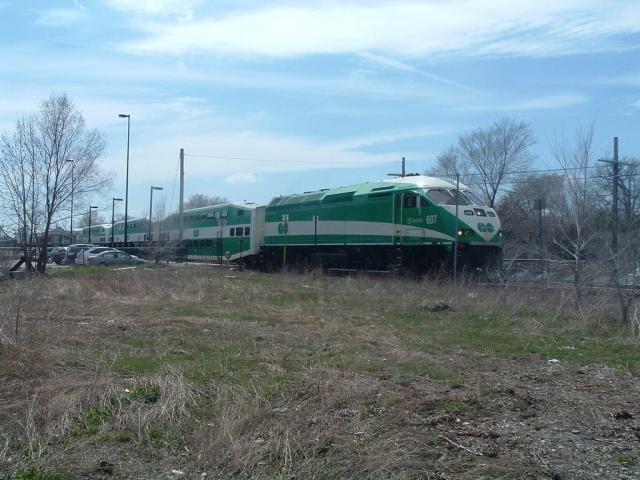 GO 607, Port Credit Ontario