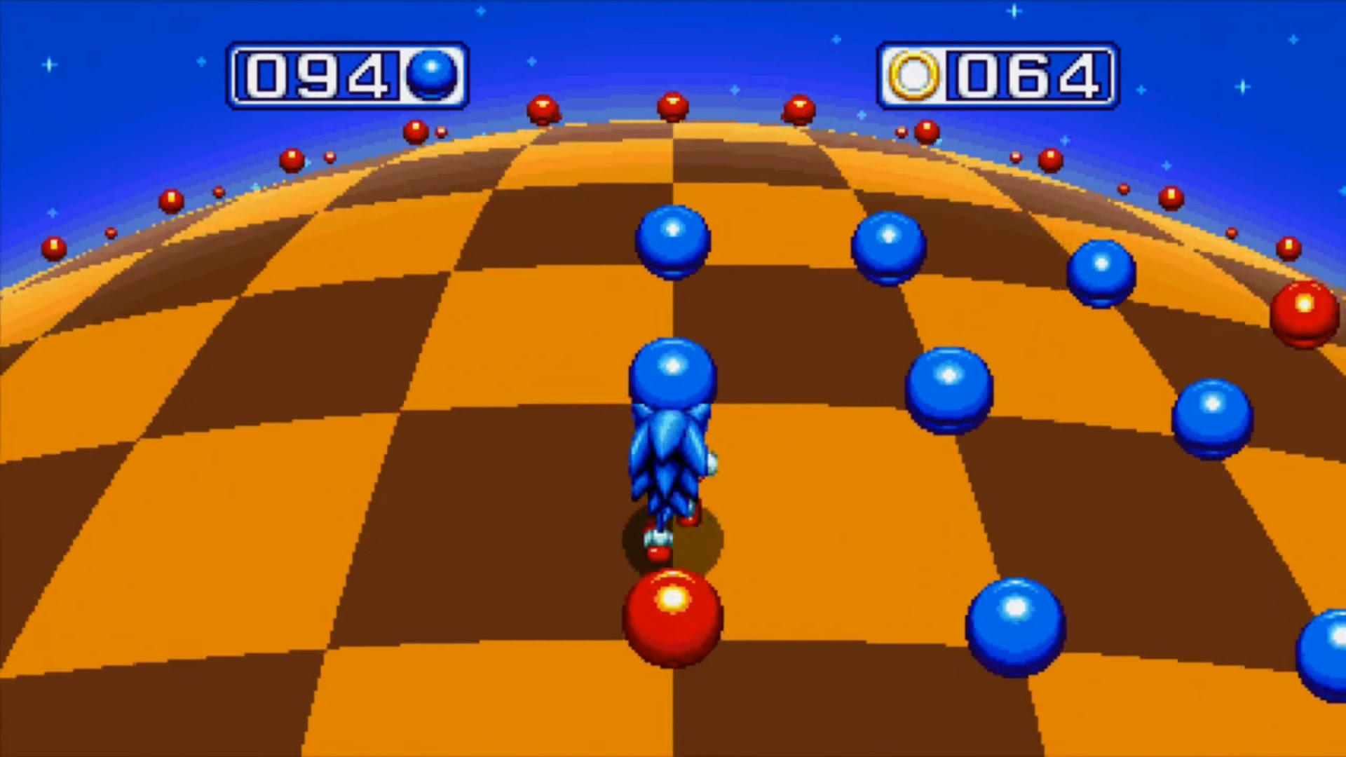 Sonic Mania's bonus stages are nostalgic as heck screenshot