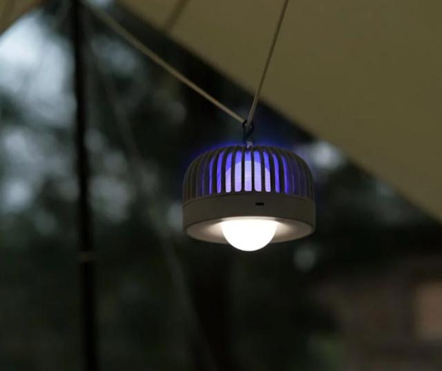 【Machino 便㩗滅蚊小夜燈】 環廻式電網吸引再滅殺蚊蟲 消費券購物推介