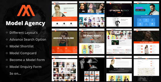 Models - Fashion Model Agency WordPress Theme