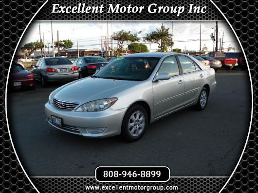 Used 2005 Toyota Camry LE V6 for Sale in Honolulu HI 96817 Excellent Motor Group Inc