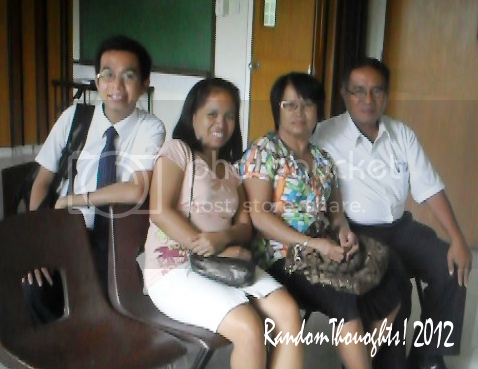 Camporazo family in Sunday Service Jan. 1, 2012