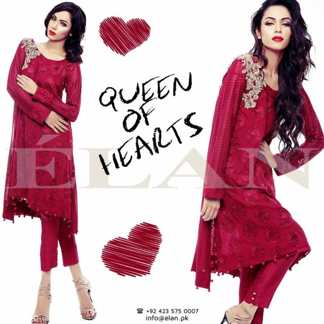 Beautiful-Girls-Wear-Valentines-Day-Romantic-Outfits-New-Fashion-Dress-by-Elan-1