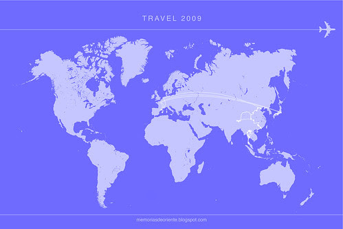 travelmap 2009