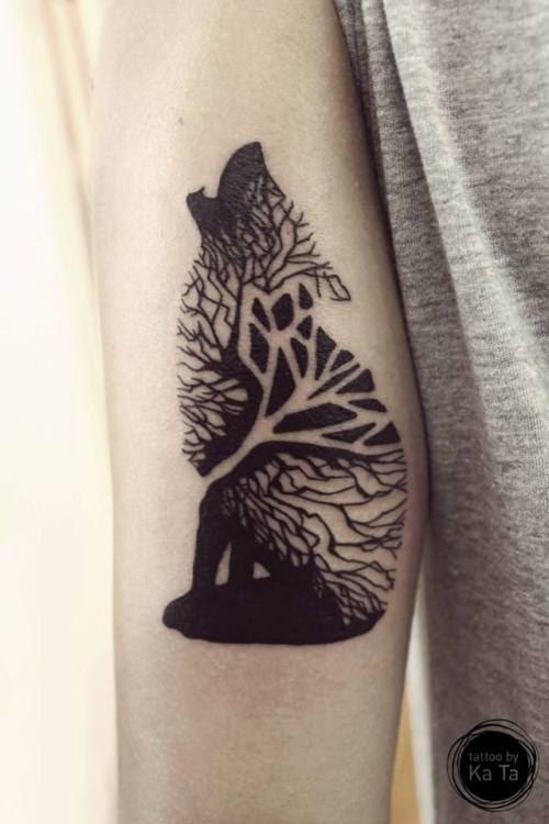 Wolf Beautiful Black Draw Tattoos Dark Tattoo Amazing Lobo Tatuajes